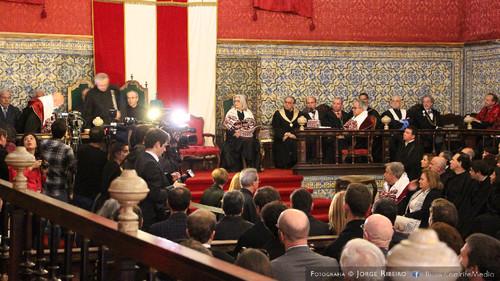 Doutoramento Honoris Causa de António Guterres pela Universidade de Coimbra. Comunicação Social