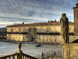 Hostal dos Reis Católicos. Santiago. in wikipedia