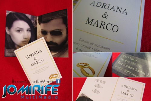 Convite de Casamento - Adriana & Marco