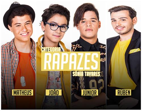 Rapazes Factor X