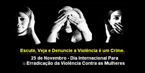 dia internacional de luta contra a violencia da mu