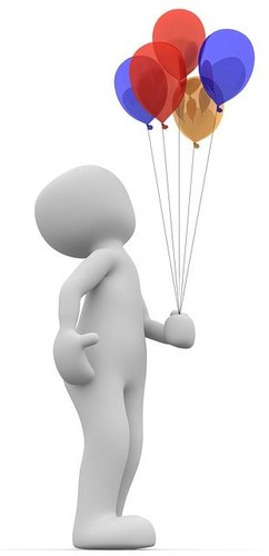 Balões (Pixabay)