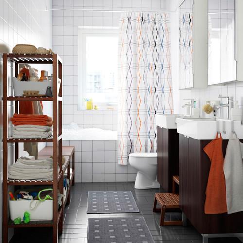 Casas de banho decoradas com m veis ikea decora o e ideias - Armarios para casas pequenas ...