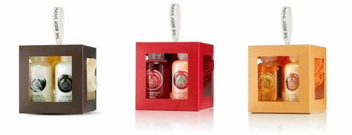 The Body Shop Sugestoes de Prendas De Natal 2014