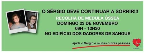 Ajudar o Sergio - Medula Ossea
