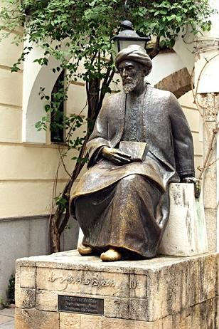 Estátua de Maiomónides em Córdova..JPG