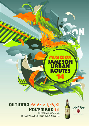 Jameson Urban Routes 2014 já tem cartaz completo