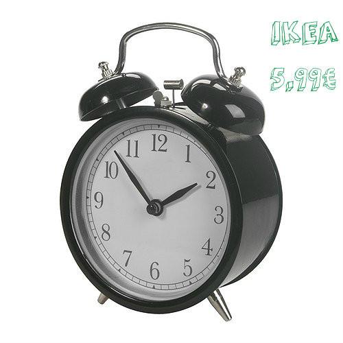 Relógio Despertador - IKEA
