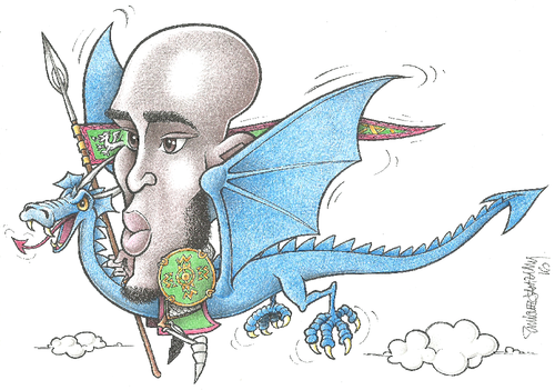Danyll, Rohirrim de Dragões