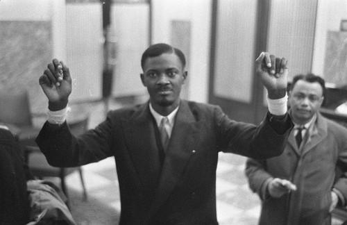 Patrice Lumumba 1960-01