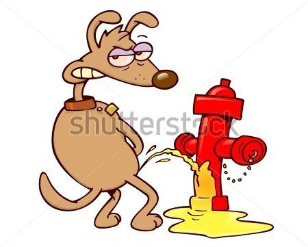 a-mad-dog-looking-back-and-urinating-on-a-red-fire