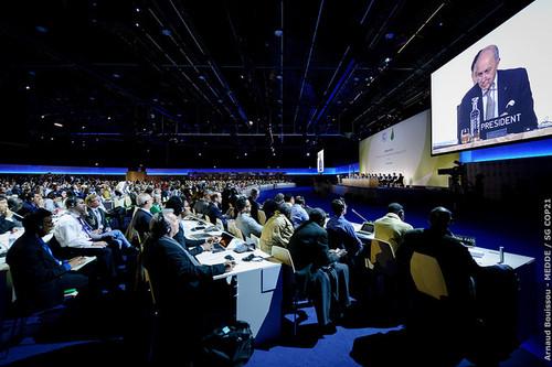 Première réunion du Comité de Paris en salle pl