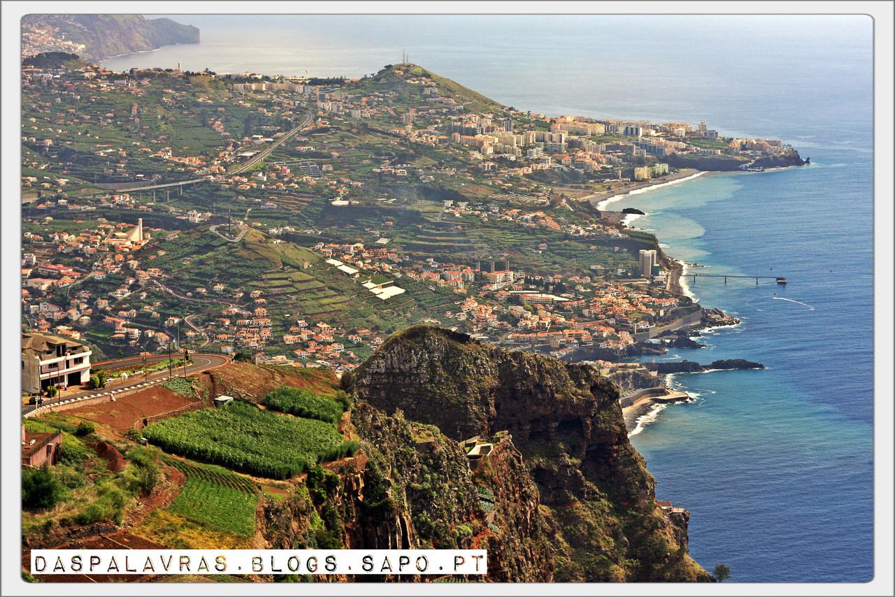 Vista do Cabo Girão - daspalavras.blogs.sapo.pt