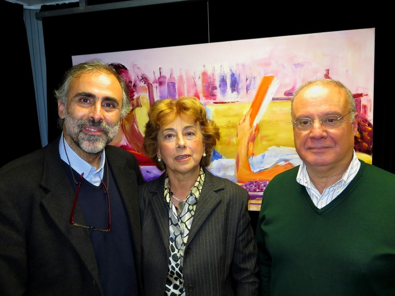 Pedro Verdelho, Maria Fernanda Verdelho, Virgílio Loureiro
