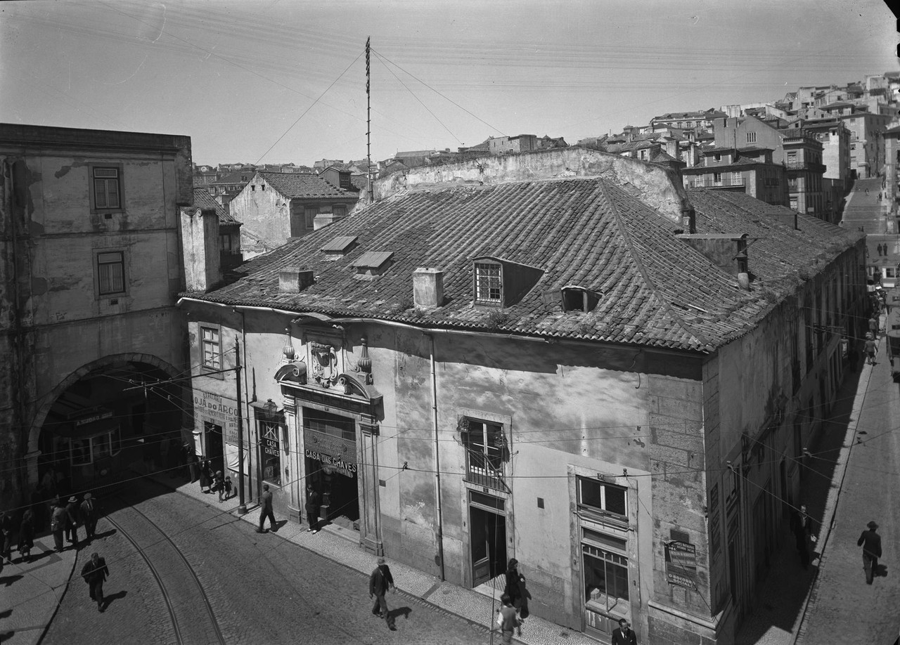 Palácio do Marquês do  Alegrete, Lisboa (M.Novaes, ant. 1946)