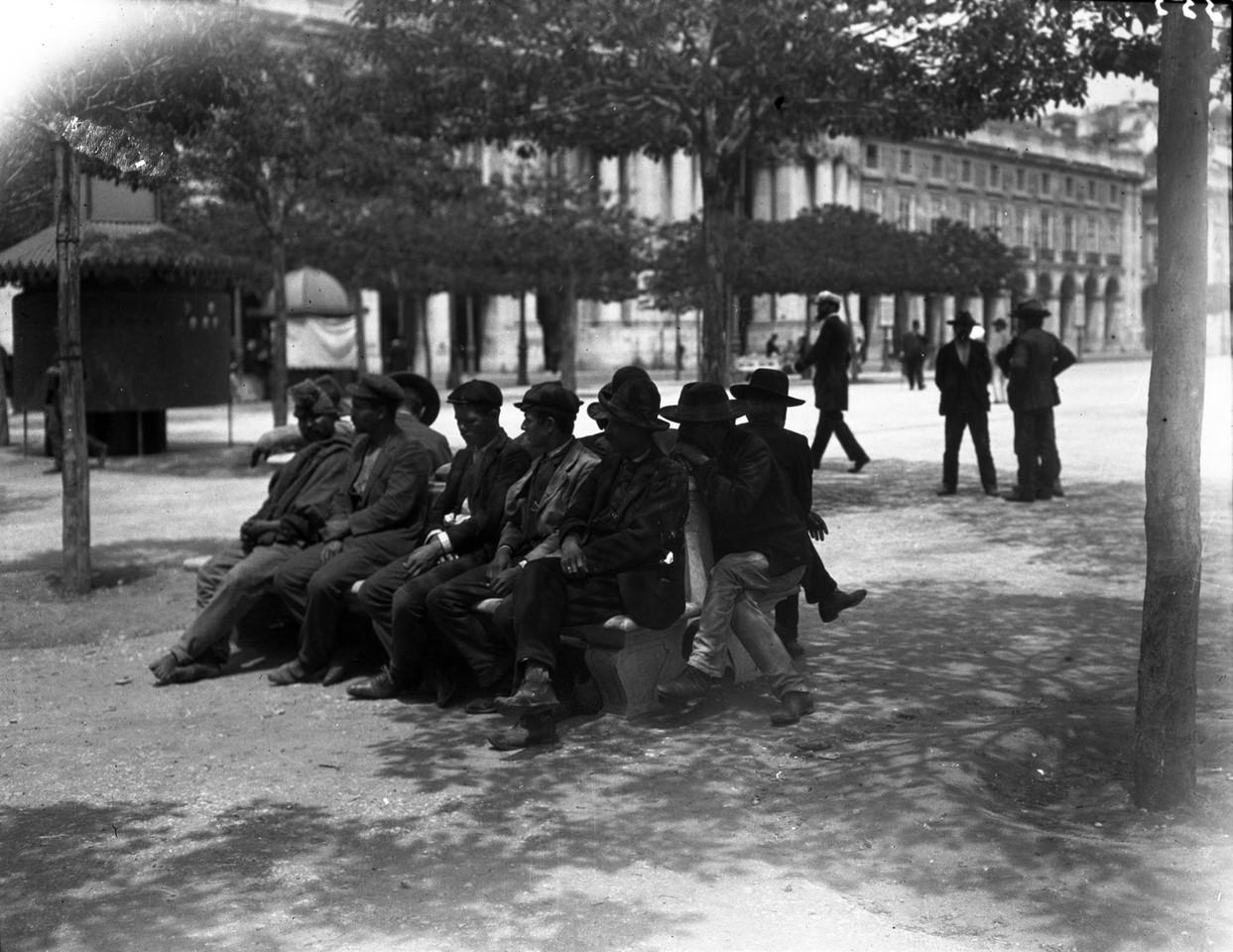 Praça do Comércio, 1907, foto de Joshua.jpg