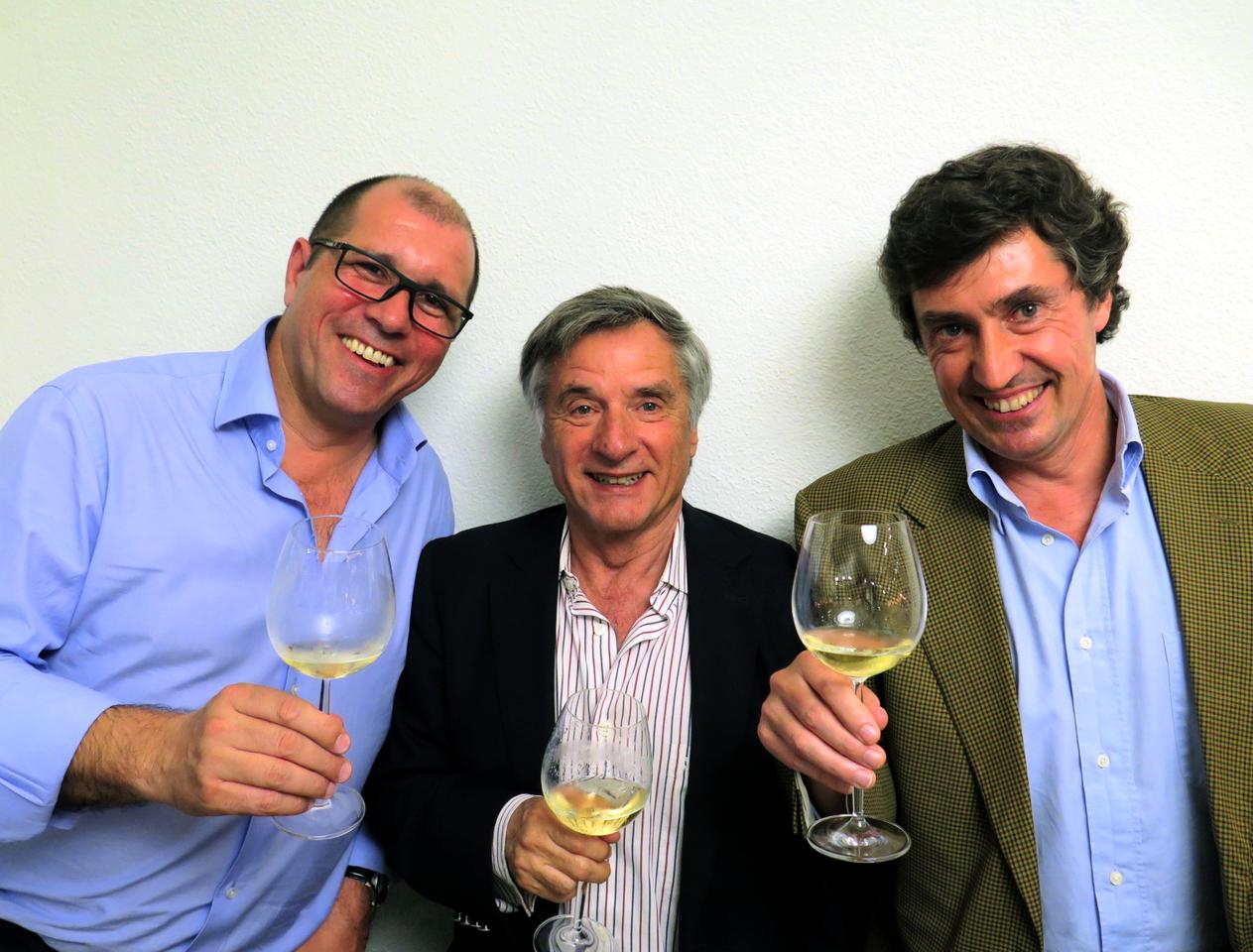 Paulo Santos, Manuel Vieira, Carlos Magalhães