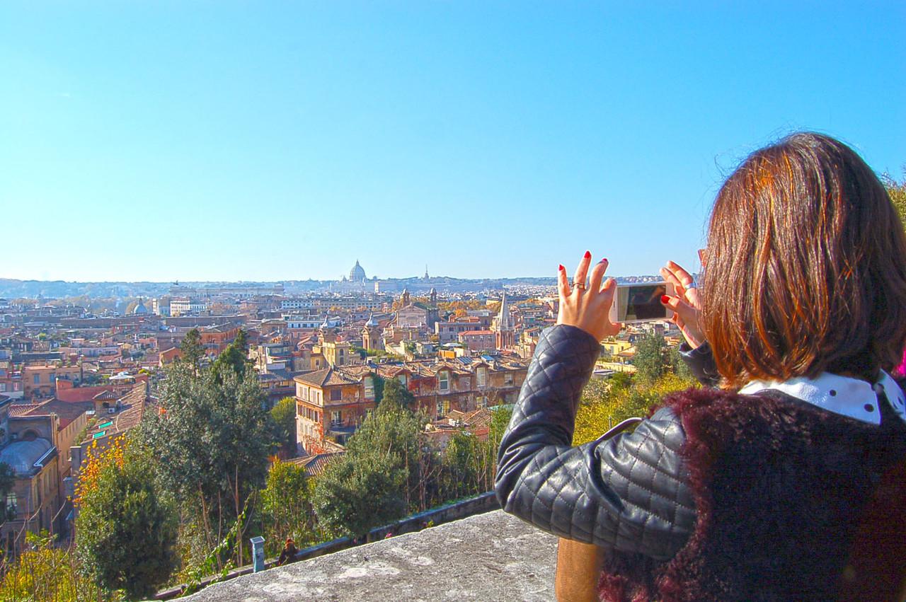 Vistas desde a Villa Medicci