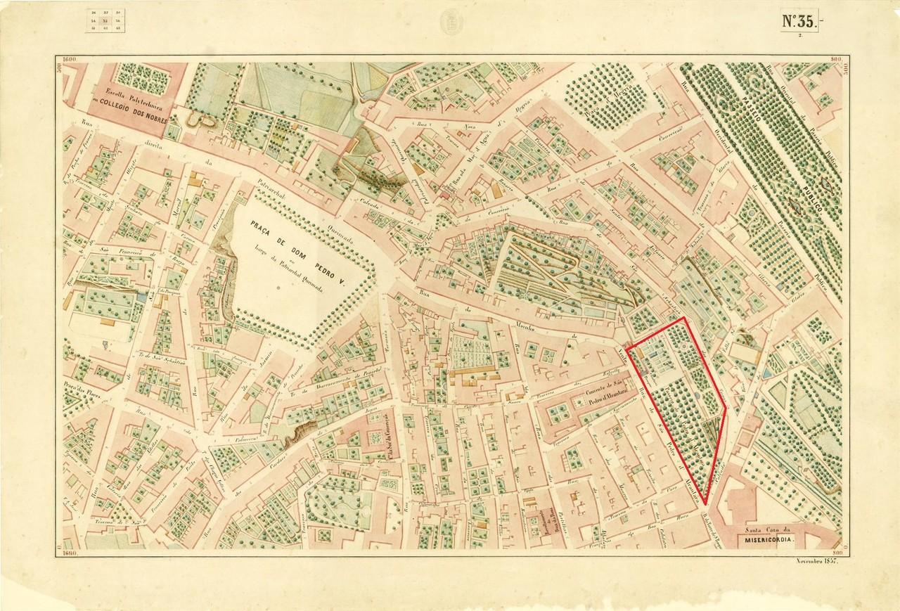 Atlas da carta topográfica de Lisboa, Nº 35, de