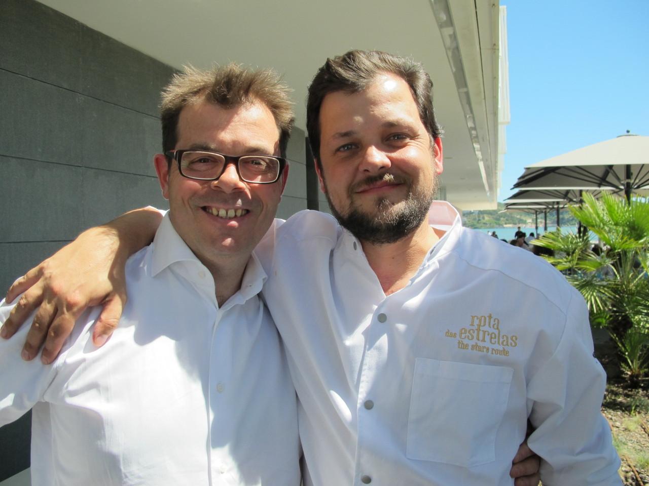 Michel van der Kroft e João Rodrigues