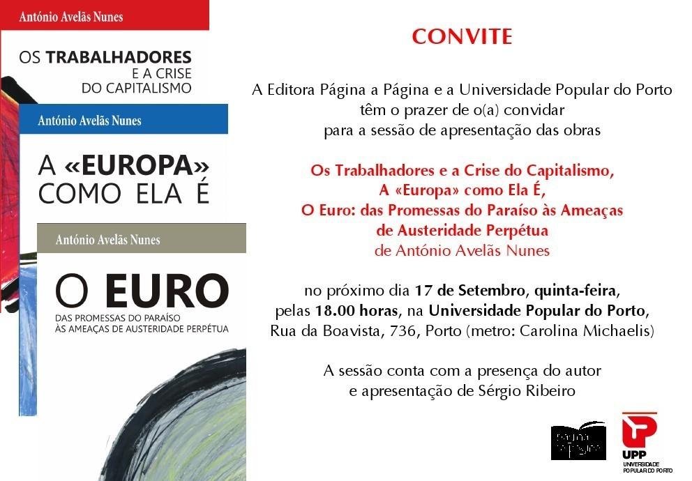 UPP Convite Livro Europa