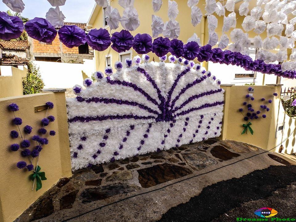 Rua da Senhora da Saúde, pormenor das ornamentaç