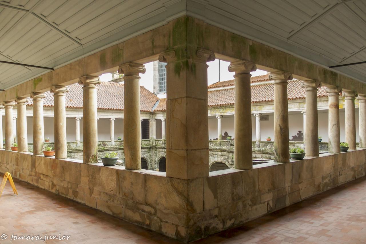 Claustro superior do Convento de S. Gonçalo - Ama