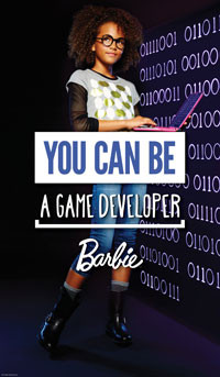 Barbie - You Can Be Anything - Game Developer