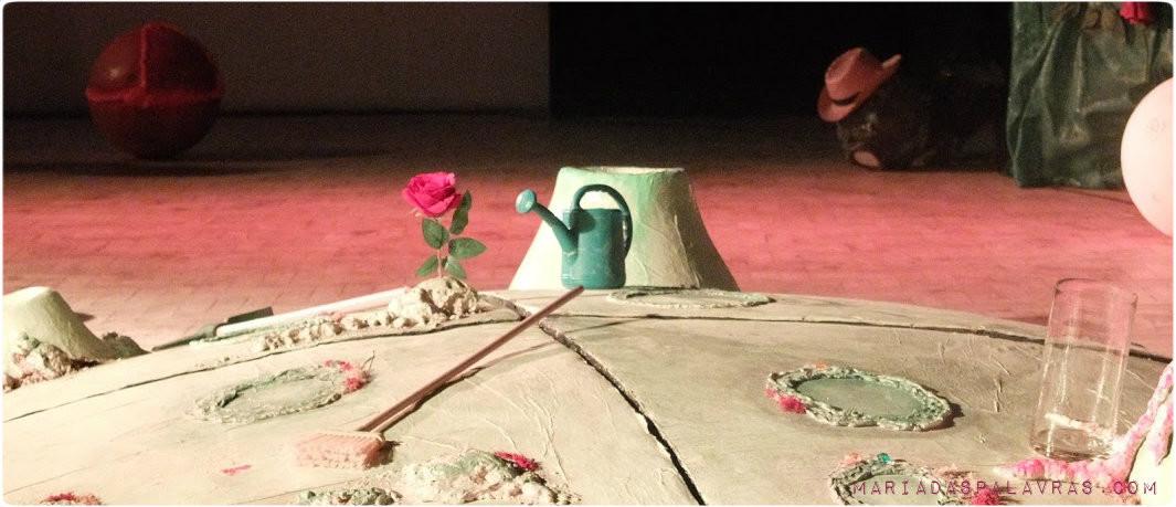 A Rosa d'O Principezinho | Teatro Byfircação | Maria das Palavras
