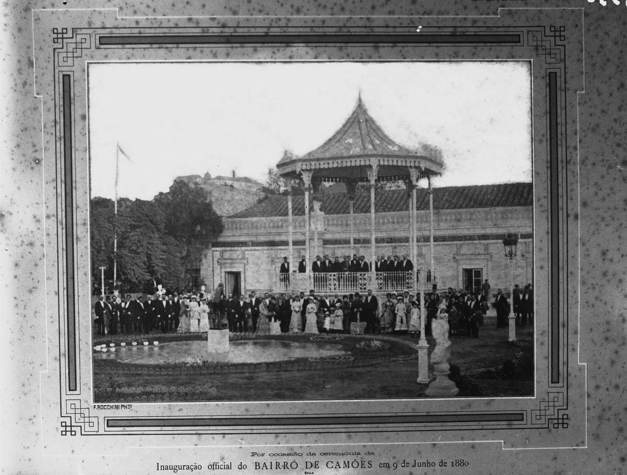 Cerimónia da inauguração oficial do bairro de C