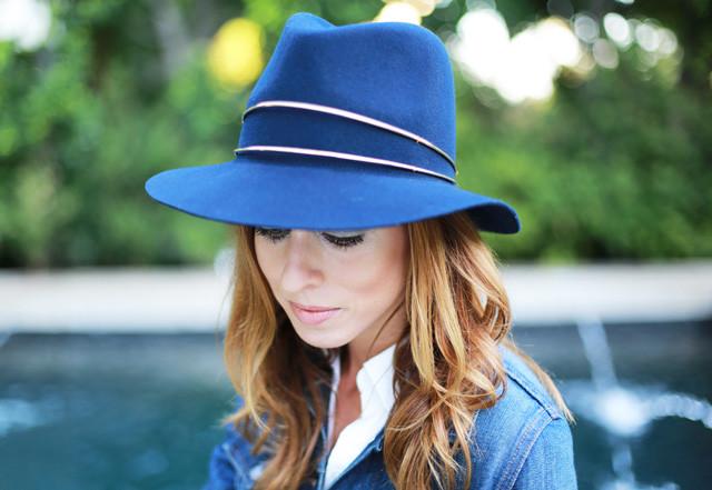 Sydne-Style-Janessa-Leone-hat-celebrity-fedora-fal