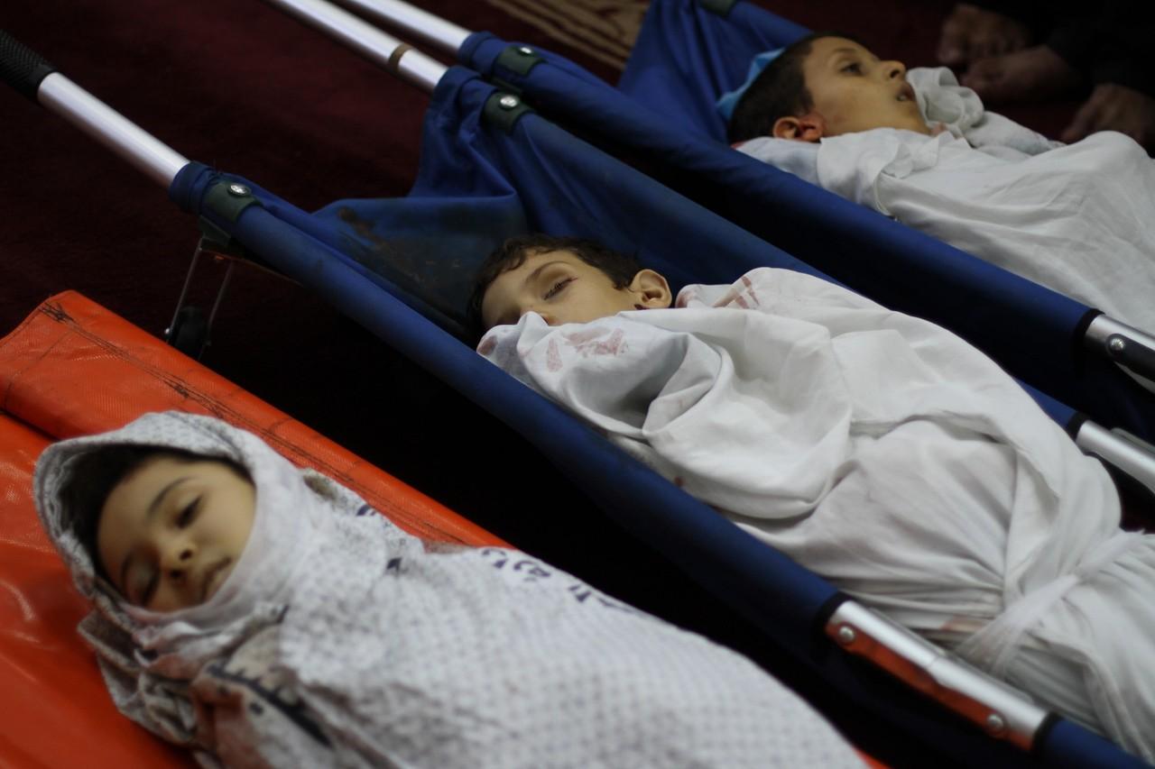 Crianças Palestina Julho 2014