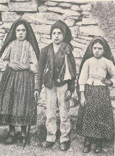 Pastorinhos em Outubro 1917 (Ilustração Portugue
