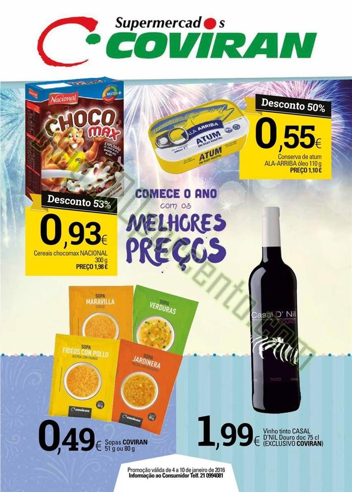 Antevisão Folheto COVIRAN Promoções de 4 a 10 j