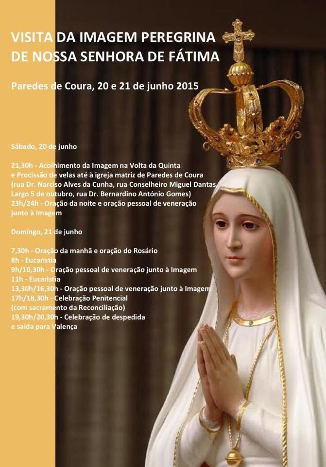 Visita Imagem Peregrina Coura