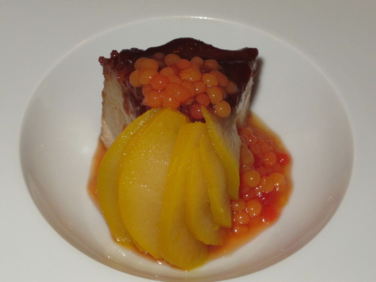 ... de castanhas e foie gras