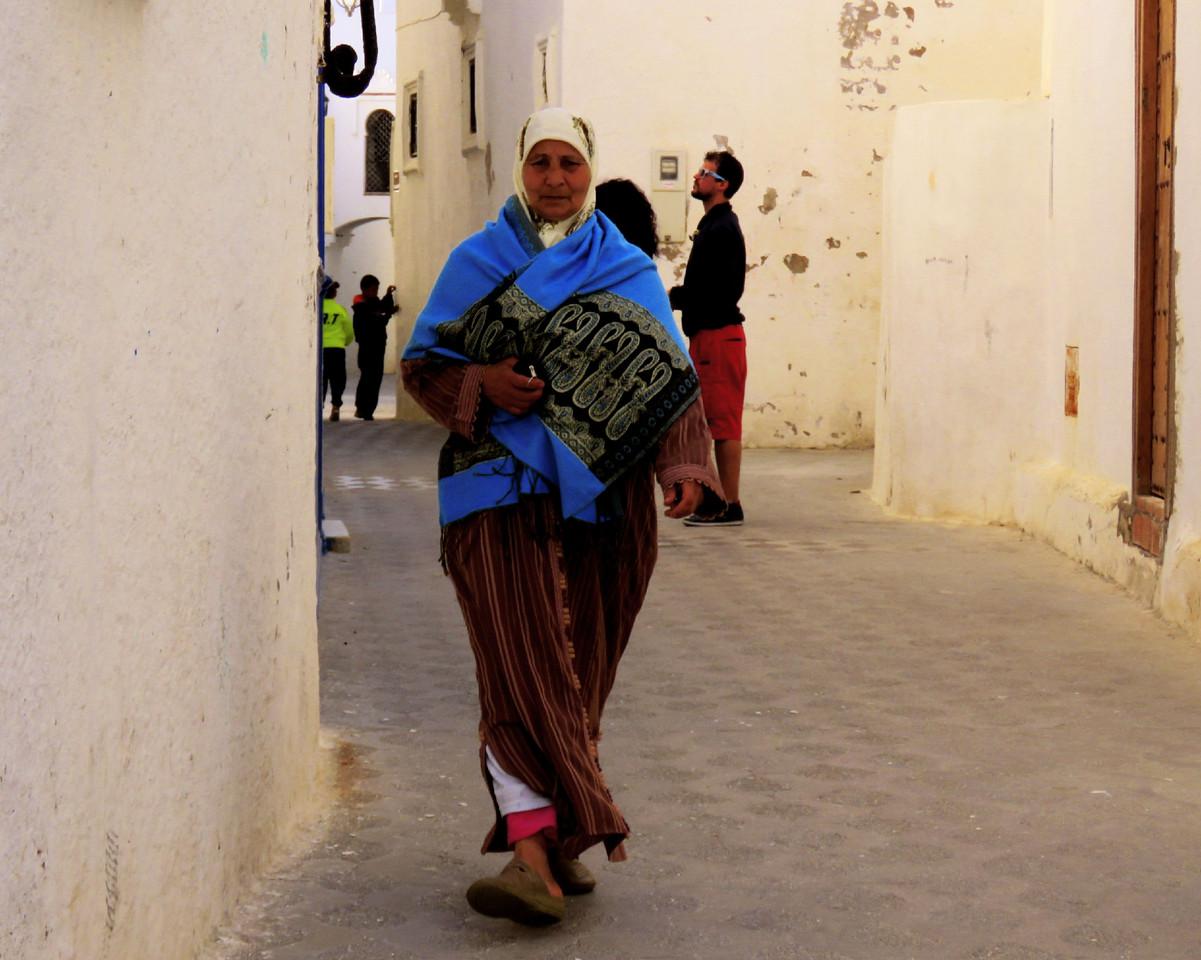 Caminhando em Essaquira