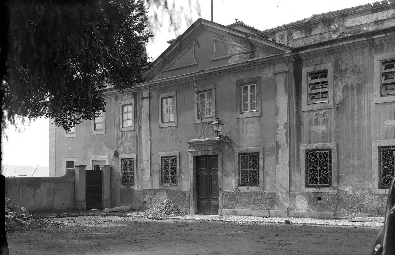 Asilo de Santa Catarina, fachada, 1948, foto de Ed