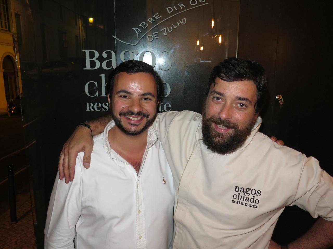 Henrique Mouro e João Jorge
