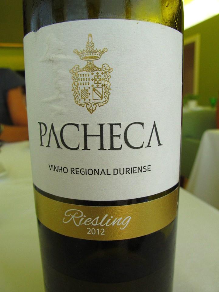 Pacheca Riesling branco 2012