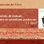 cartaz Biblioteca lançamento livro Cantinho do Ga