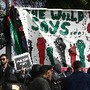 Egypt Protest Palestinians Gaza