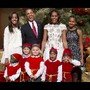 A união da Família Obama em Imagens