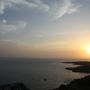 por-do-sol visto do fortinho de São Filipe08.jp