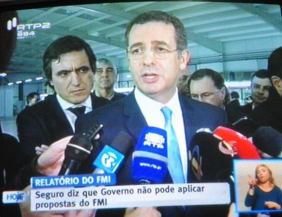 ANTÓNIO JOSÉ SEGURO ACUSA GOVERNO DE APLICAR PRO