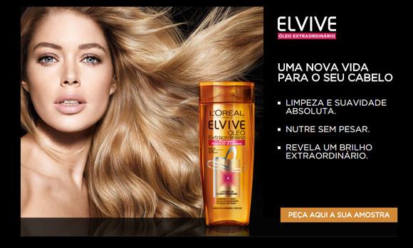 Amostra Elvive Óleo Extraordinário - L'Oréal.bm