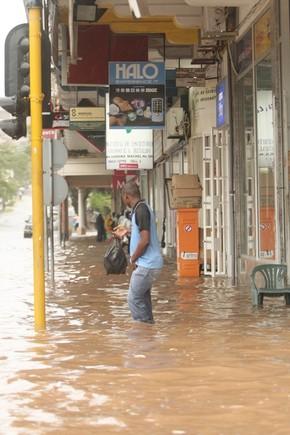 Maputo debaixo de água