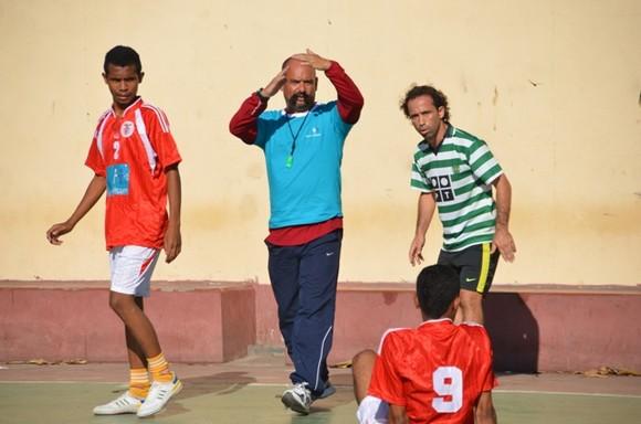 Torneiu futsal Sport Díli e Benfica