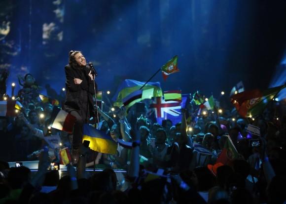 Salvador Sobral vence Eurovisão, Kiev, Ucrânia