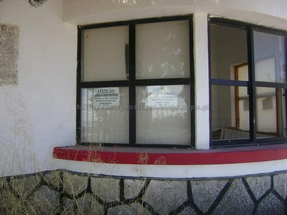 Porta de armas antigo RAC 7º Bataria - Agosto de